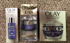 Olay Regenerist**Retinol 24**Night Moisturizer + Serum + Eyes** BUNDLE