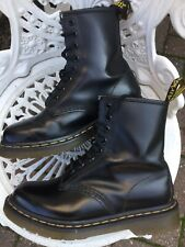 Doc Martens Smooth Black Leather 1460 8hole Uk3/36 Excellent Condition