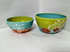 Daisy Floral Spring Mixing Bowls Kitchen Home Decor