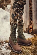 TIMBERLAND GAITER BOOT TB0A1Z2C MIXED MEDIA PREMIUM  BROWN GREEN 100% AUTHENTIC