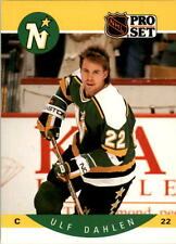 1990-91 PRO SET HOCKEY ULF DAHLEN CARD #136 MINNESOTA NORTH STARS NMT/MT-MINT