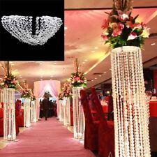 50M/164FT Diamond Strand Garland Acrylic Crystal Bead Beaded Wedding Decoration