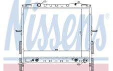 NISSENS Radiador, refrigeración del motor KIA SORENTO 66657