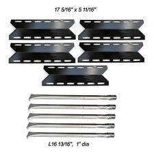 Charmglow 720-0234 Grill Rebuild Kit Replacement Heat Plate and Burner-5pack