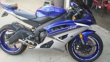 CUSTOM PURPLE VIOLET REFLECTIVE MOTORCYCL RIM STRIPES WHEEL DECALS TAPE STICKERS