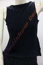 Regular Size Sleeveless Acrylic Knit Women's Tops & Blouses