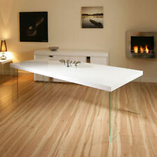 Lacquer More than 200cm Width Modern Tables
