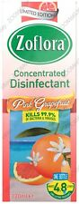 ZOFLORA 120ml Antibacterial Disinfectant Concentrated Kill Germs PINK GRAPEFRUIT