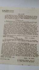Le général Leclerc commandant la 2Db ORDRE DU JOUR N115 12 juin  1945