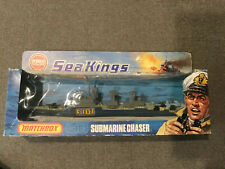 1977 Matchbox Sea Kings Submarine Chaser K-305 Unpunched