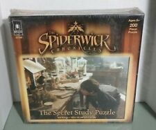 The Spiderwick Chronicles The Secret Study 200 Piece Puzzle Nickelodean Kid NEW