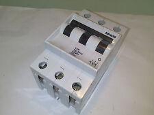 SIEMENS 5SX1 No 22-U 20A 20 A MAGNETOTERMICO CIRCUIT BREAKER 3 POLO