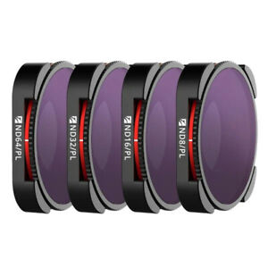 Freewell 4-Pack ND/PL Bright Day 4K Series Filter Set for HERO9 Black