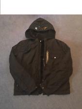 CP Company Stone Island Black Dynafil Mille Miglia Hooded Goggle Jacket Size 50