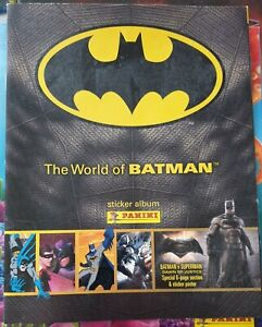 WORLD OF BATMAN STICKER COLLECTION BRAND NEW STICKER ALBUM