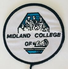 Midland College Of TAFE Patch Badge Rare Vintage Education (P7)