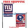 "New York Giants Logo Garden Outdoor Flag Double Sides 12x18"" NFL 2019 Fan NEW"