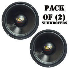 "Pair of New Pyramid PW848USX 8"" 350W 8 Ohm 175W RMS High Performance Subwoofers"