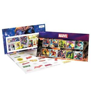 Marvel Comics Presentation Pack Collectible Postage Stamps