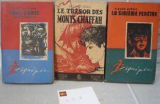 """Lot n° 8: 3 livres: récits d' aventures scout, """"La Toison…World FREE Shipping*"""