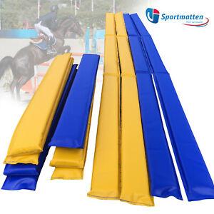 PVC-SchaumstoffBallken 8-Set Plannenstoff Bodenarbeit Hindernisstangen Pferd