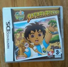 Nintendo DS, Go Diego Go!, Safari rescate, juego