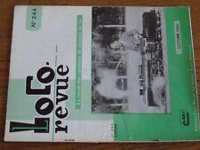 $$$ Loco Revue N°244 E94 MarklinPA N°1 AurayVilla ThisbeMoteur Tri-Ang