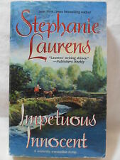 IMPETUOUS INNOCENT by Stephanie Laurens 1994 VERY NICE Paperback FAST SHIPPING