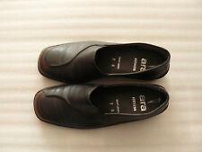 Ara Fitness Slipper Gr.7G (Gr.40) braun Echt Leder Schuhe Halbschuhe