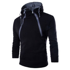 Men Women Hooded Sweatshirt Coat Plain Design Hoodie Blank Pullover Hoody