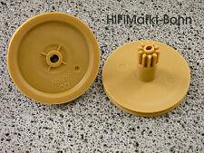 2 x philips CD 930 cdm-9 engrenage gear wheel joueur player