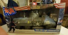GIJOE 1/6 SCALE WWII LIGHT ARMOURED CAR IN NEW CONDITION WITH ORIGINAL BOX