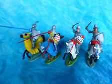 Soldats cavaleries en plastique peint français