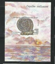 MADAGASCAR. Año: 1992. Tema: FAUNA. MOLUSCOS.
