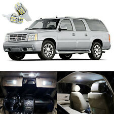 17 x White LED Interior Light Package Kit Deal For Cadillac Escalade 2002 - 2006