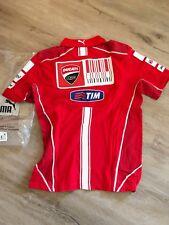 2010 Ducati Motogp Team Issue Polo Shirt, Nicky Hayden 69 Casey Stoner 27 Size S