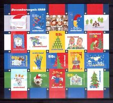 NETHERLANDS 1999 Christmas Sheet MS MNH