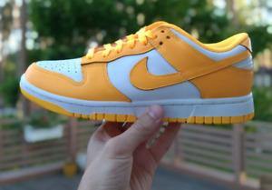 in hand Nike Dunk Low Laser Orange Size US 10W / 8.5M DD1503-800