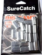 20 x 4.2mm SURECATCH BIG GAME ALUMINIUM CRIMPS FISHING SLEEVES FOR MONO & WIRE