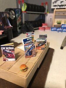 1/10 Scale Crawler Garage Rc Car Magazine X5