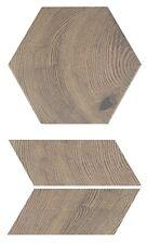 SAMPLE- Hexawood Old Porcelain Tile | Various Pattern Option | see desc.