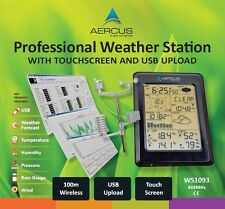 Wireless Weather Station Touch Screen Aercus Instruments WS1093