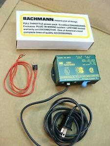 NEW Bachmann 6604 HO hobby train transformer 120v 8w