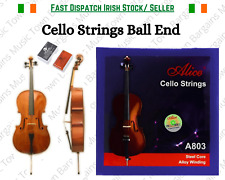 Cello Strings Ball End Violoncello Rosin Steel Core Nickel Alloy Wound Plated