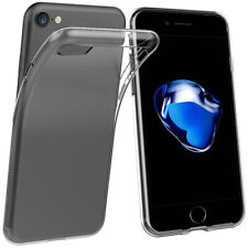 AM_ Protective Clear Soft Silicone Case Skin Cover for iPhone SE 5 5S 6 6S 7 Plu