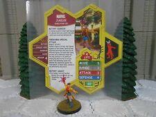 Heroscape Custom Jubilee Double Sided Card & Figure w/ Sleeve Marvel
