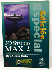 Libro 3D STUDIO MAX 2 EDICION ESPECIAL (Ed. Prentice Hill)
