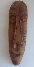 """African Hanging Art- 24"""" Wood Carved Face- Read Description and See Photos"""