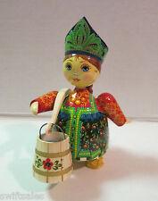 Russian Matryoshka Hand-Made Linden Wood Doll #7