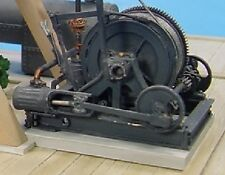 O/On3/On30 1/48 WISEMAN MODEL SERVICES SINGLE SPOOL HOIST OR MINE WINCH KIT